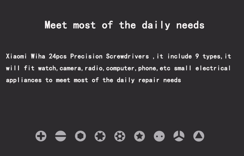 Xiaomi Wiha Precision Screwdriver Set 24 in 1 -3