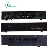 Видеостена контроллер 2x2 2x1x2 1x4x1x3 3x1 USB/HDMI/VGA/AV вход 4 ТВ показывает экран сплайсинга бесплатная 2 шт. 4 К кабель HDMI