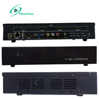 Video Wall Controller 2X2 2X1 1X2 1X4 4X1 1X3 3X1 USB/HDMI/VGA/AV input 4 TV shows a screen splicing free 2PCS 4k hdmi cable