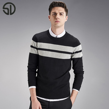 Woodvoice 2017 Hot Sales Men's Pullover Sweater Fashion Outwear Clothing Knitwear For Male O-neck Sweater Masculine Sweater S001