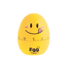 BF040 Creative cartoon timer egg expression 60 Minute Cooking Mechanical Home Decoration kitchen 8cm*6.5cm