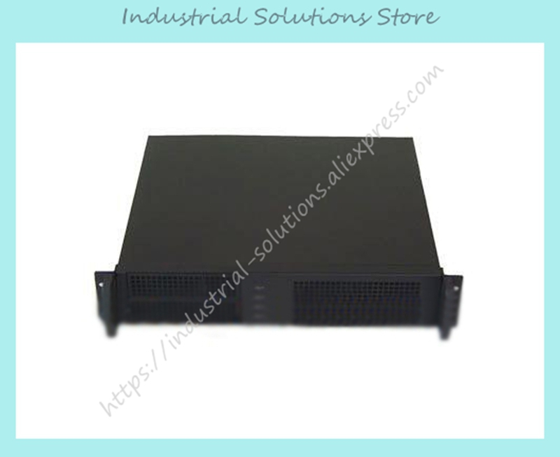 New 2U380mm Long Server Dual Motherboard Server Industrial Computer Case Computer Case new 550mm long 2u server industrial computer case general atx power supply pc large panel rack mount computer case