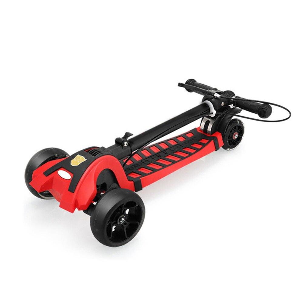 Plier le Double système de freinage ville Scooter moteur roue coup de pied scooter