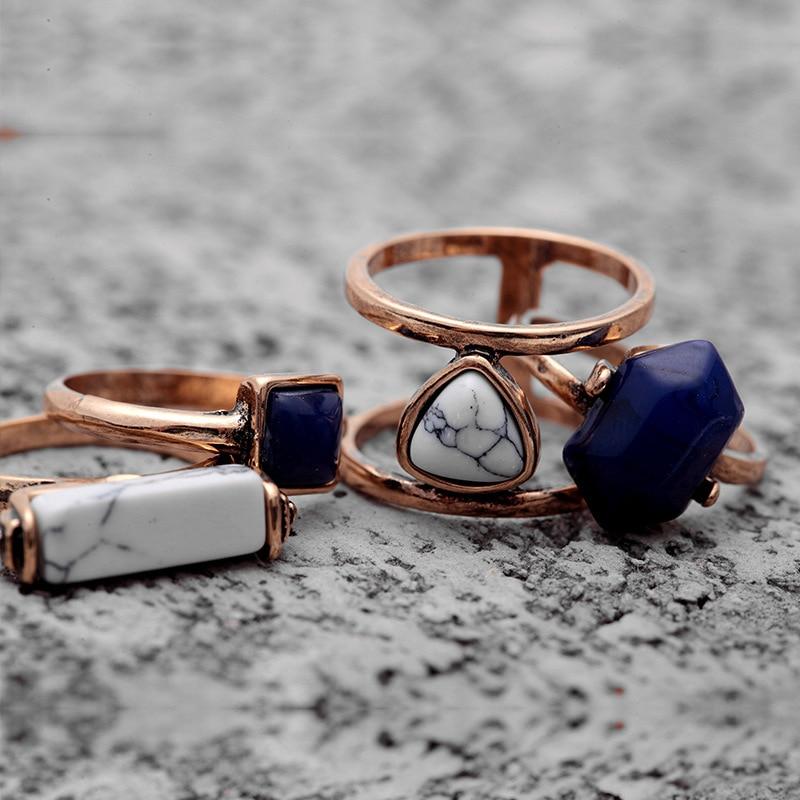 Vintage rings 4 PCS 4