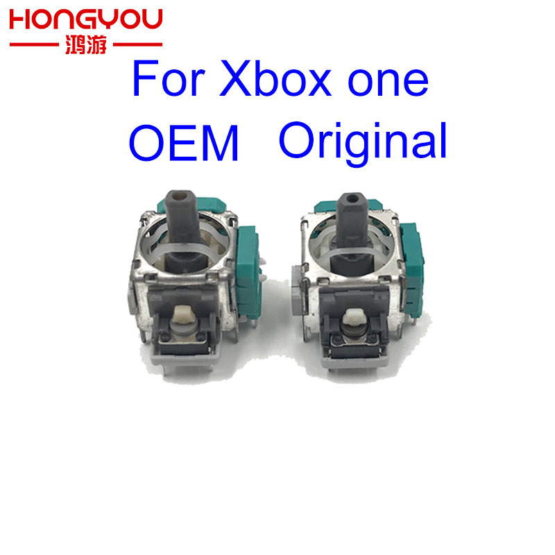 100Pcs For XBox One Controller Case 3D Joystick For Xbox One Caps Thumbstick Sensor Replacement Analog Module Axis