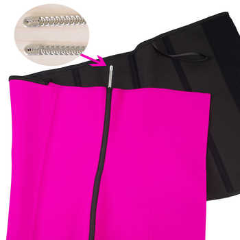 9 Steel Bone Waist Trainer Shapewear Body Shapers Women Corset Slimming Belt Waist Shaper Cinta Modeladora Latex Corset Cincher