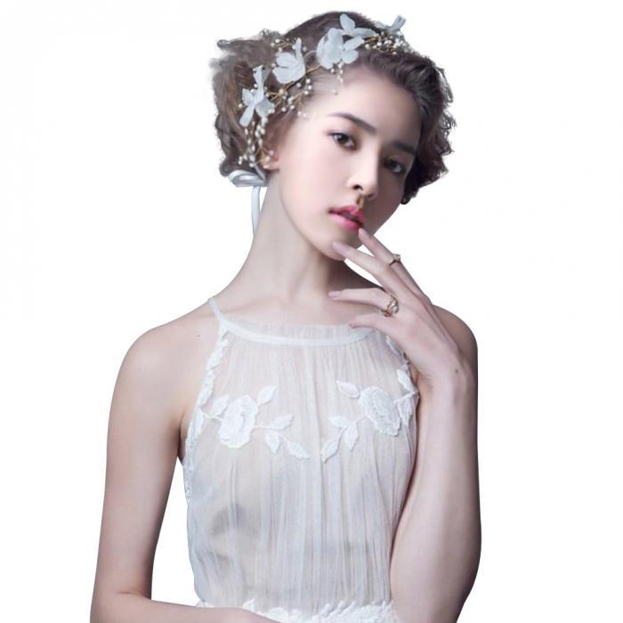HTB1ud6NJpXXXXX8XpXXq6xXFXXX8 - Новое поступление цветочная жемчужная гирлянда для невесты свадебная цветочная корона повязка на волосы бесплатная доставка SL