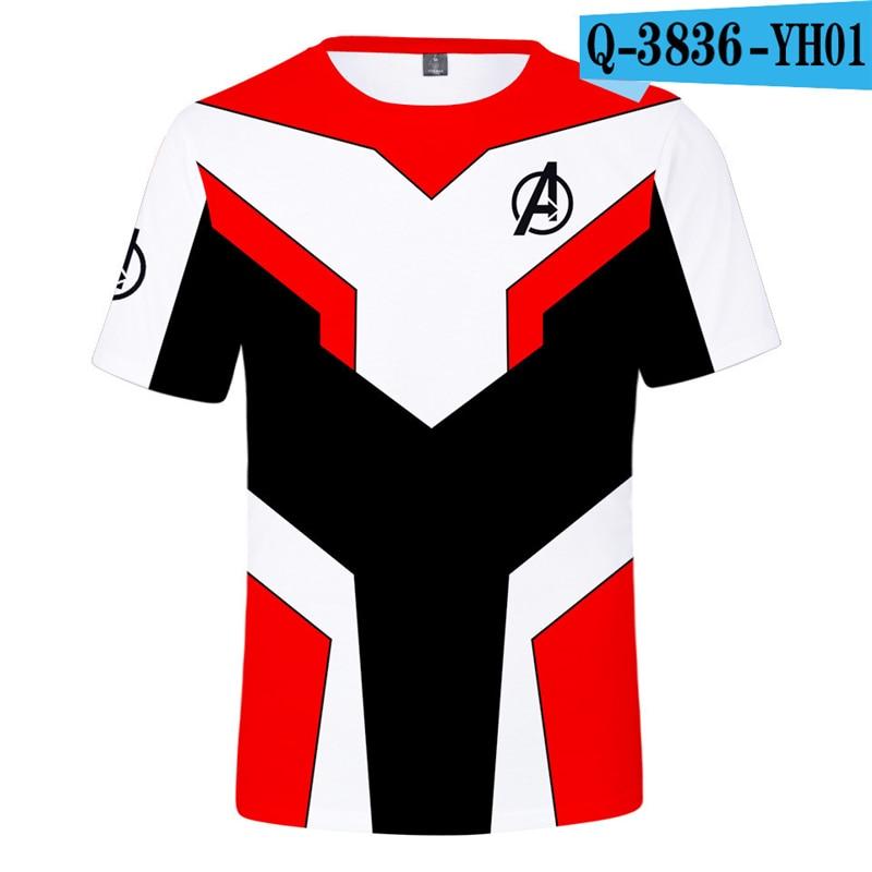 Avengers T Shirt Endgame Shirts Superhero Avengers Clothing Captain America 3D Clothes Kids Clothings Avenger Clothes Marvel Price $13.98