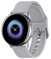 Watch Samsung Galaxy Watch Active R500, Smart Watch color Silver (Silver), screen SAMOLED from 1,1 (2,79 cm), GPS