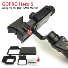 GOPRO Hero 5 Accessories Adapter Switch Mount Plate for DJI OSMO Mobile Gimbal Camera