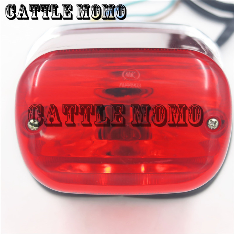 High Quality Motorcycle Taillight Lamp For XV250 XV125 Rear Brake Light Motorcycle Tail Light Lamp 3 Lines OEM 3LS-84700-00-00