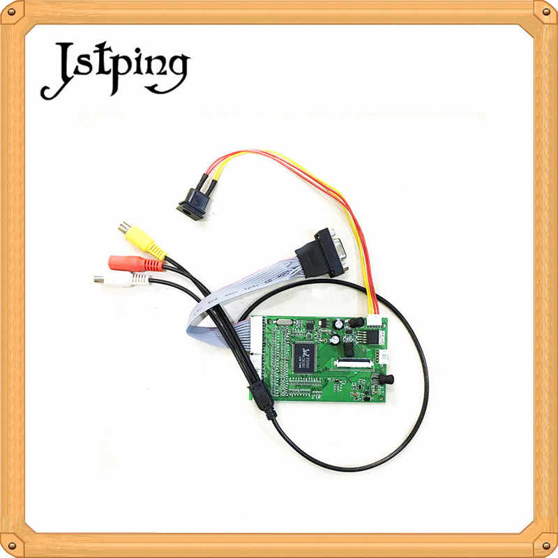 Jstping display LCD screen panel TTL LVDS 40pin HDMI controller Driver Board Monitor AV VGA Kabel für Raspberry Pi