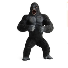19cm Action Figures Animal Chimpanzee King Kong Skull Island Gorilla PVC Action Figure Model Toys Doll For Boys Gift scary gorilla king kong figure mask headgear style assorted