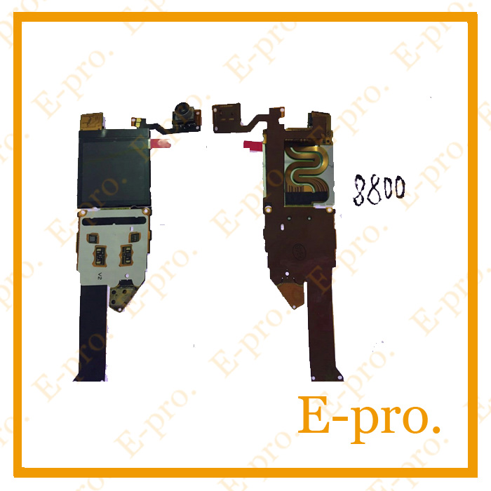 New Good Quality For Nokia 8800 LCD Screen Display Flex Cable Camera Repair Parts Free Tracking