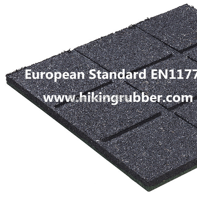 Best Quality Playground Rubber Tiles Floor With European Standard
