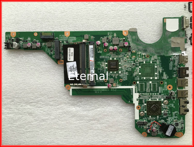 ФОТО 697230-001 for HP CQ58 laptop motherboard DA0R52MB6E0 REV:E0 100% Tested working