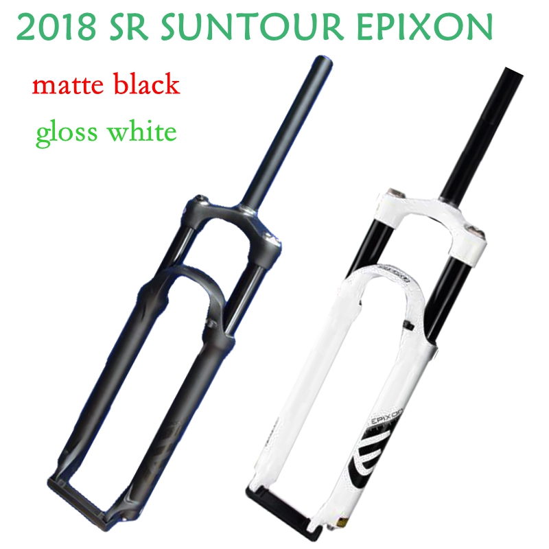 SR SUNTOUR EPIXON Bicycle Fork 26 / 27.5/29 Mountain MTB Bike Fork remote and manual of air damping front fork 2018 new style sr suntour xcm bicycle fork 26 inch mountain bike fox mtb
