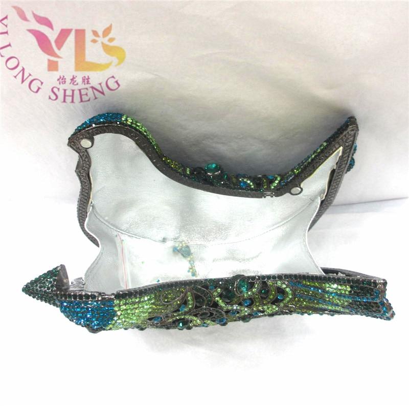 DIRD Diamond Axşam debriyaj çantası Multi Fashion Crystal Clutch - Çantalar - Fotoqrafiya 3