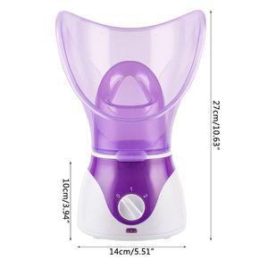 Image 5 - 2in1 ホットスプレーディープクリーニング美容蒸しデバイスフェイシャルスチーマー機顔熱噴霧器スキンケアツール