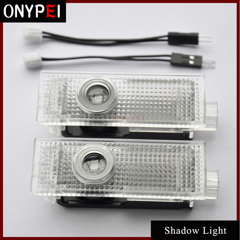 Aggressive 2pcs/lot Led Welcome Shadow Light Laser Projector Step Door Courtesy Welcome Light Shadow Light For Bmw Suitable For Men, Women, And Children