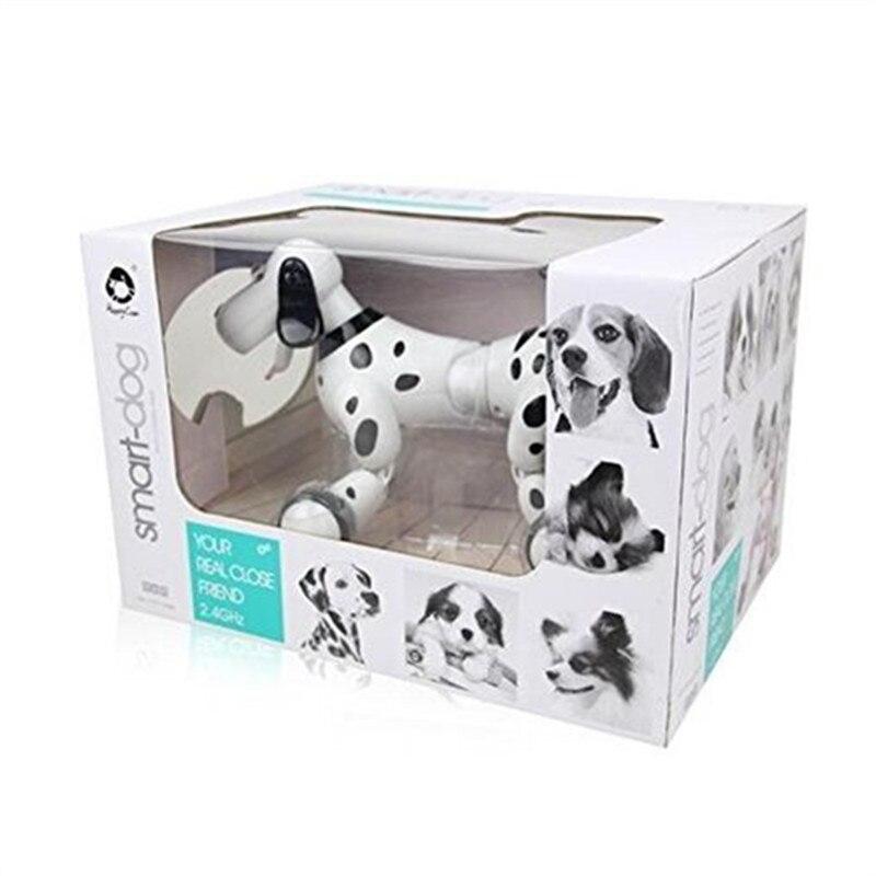 777-338 D'anniversaire Cadeaux RC zoomer chien 2.4g Sans Fil Télécommande Intelligente Chien Électronique Pet Éducation des Enfants jouet Robot jouets - 3