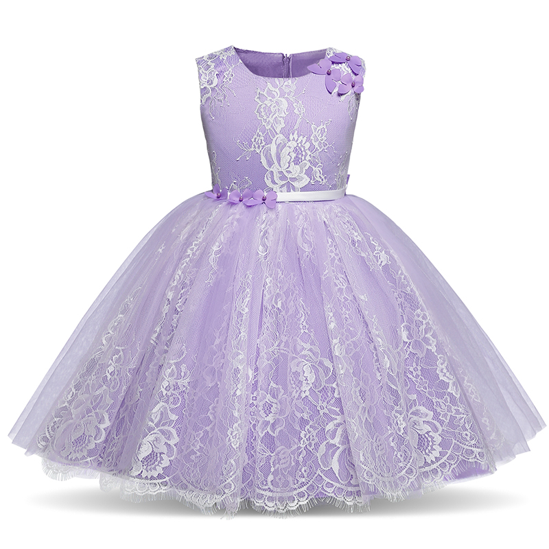 Lace Flower Girl Dress 2018 for Weddings Tulle Tutu Kids Clothes Dresses Girls Party Birthday Outfits Princess Children Vestidos kids flower girls dresses pageant vestidos bebes lace tulle kid girl party dress for wedding children summer clothes birthday