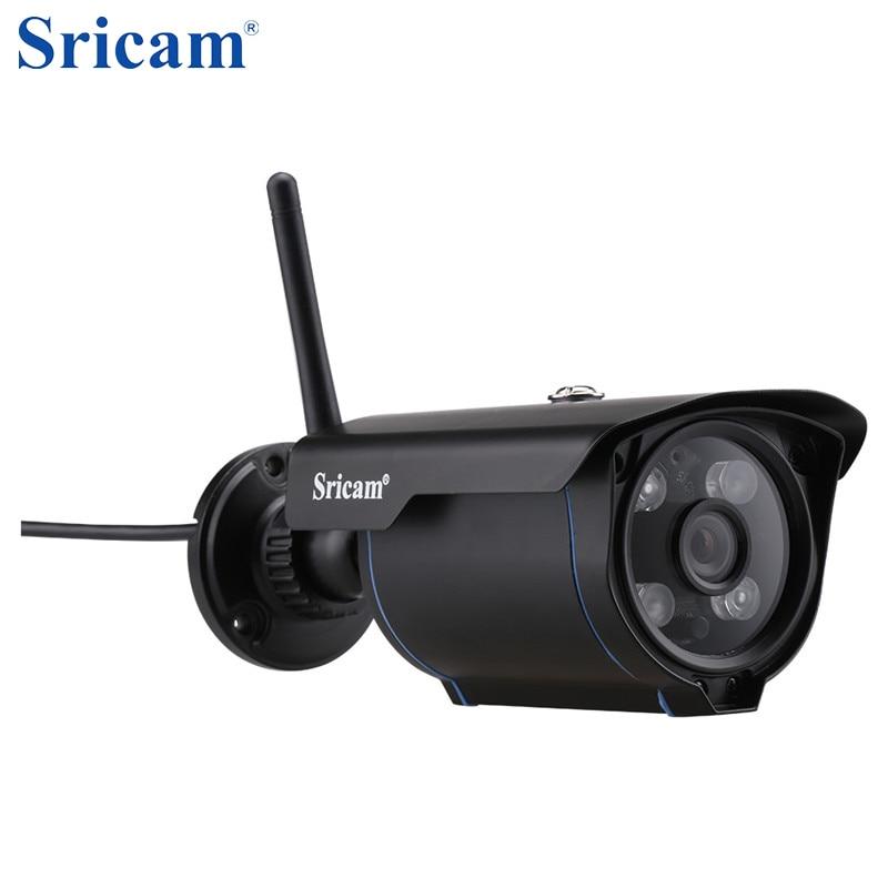 imágenes para Italia Local Envío Libre Sricam SP007 WiFi Cam para el Hogar 720 HD cámara Inalámbrica IP Onvif Ir-cut de seguridad CCTV filtro cámara