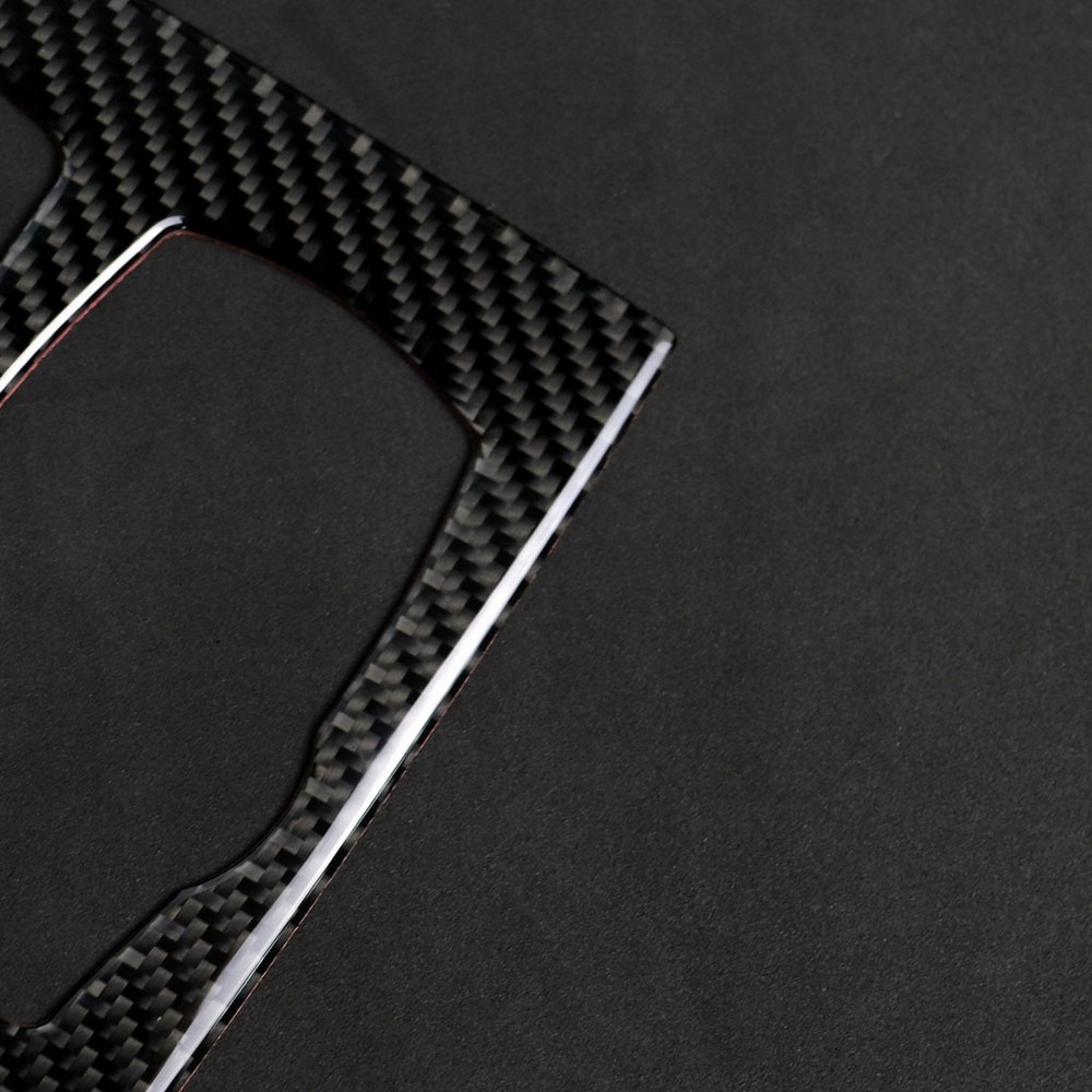 Image 4 - Carbon Fiber Auto Gear Panel Sticker For BMW X5 X6 F15 F16 2014 2017 Car Stickers and Decals Interior Mouldings 2 Colors-in Interior Mouldings from Automobiles & Motorcycles