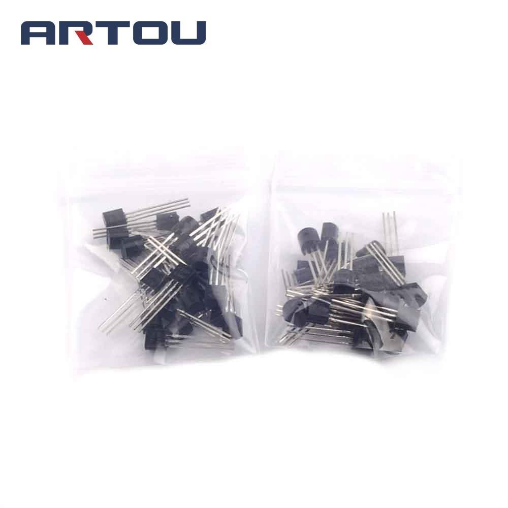 50pcs Mje13003 E13003 2 To 126 Transistor In Transistors From 13001 Electronic Ballast Circuit Mje13001 25pcs 13003 E13001 92
