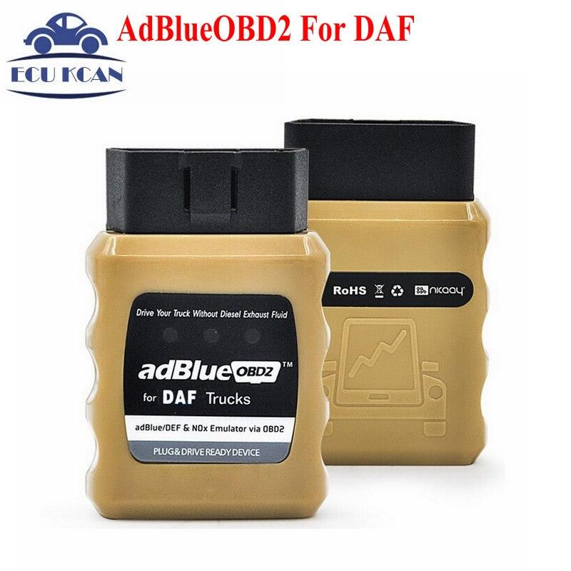 Prix pour Nouvelle Arrivée AdBlueOBD2 Pour DAF Camions Adblue Émulateur NOx Pour DAF Adblue Pour DAF AdBlue OBD2 Livraison Gratuite