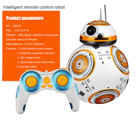 Upgrade Star Wars RC BB 8 Robot Star Wars 2 4G Remote Control BB8 Robot Action