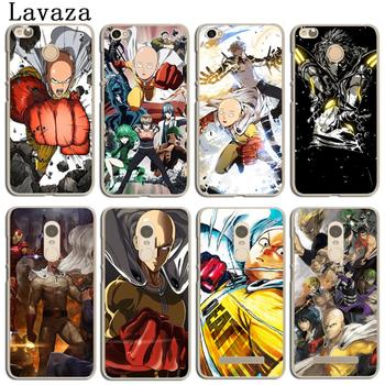 Lavaza One Punch Man Phone Cover Case for Xiaomi MI 8 SE A2 lite A1 MIX 2S MiA2 Mi8 Redmi 6A 4A S2 Note 4 4X 6 5 Pro 5A Prime