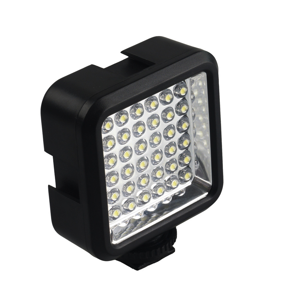 Photography light camera light for gropro camera DV single lens LED fill light for Canon outside shooting news light in Flashes from Consumer Electronics