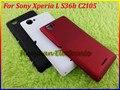 100% Original de la batería contraportada puerta de la caja para Sony Xperia L S36h C2105 blanco negro rojo envío gratis