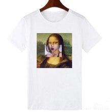Personality Harajuku Cartoon fun print T-shirt New fashion s