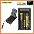 100% Original Nitecore UM20 18650 Lithium Battery Charger USB LCD Display Digicharger for 17500 14500 Li ion Batteries Charging