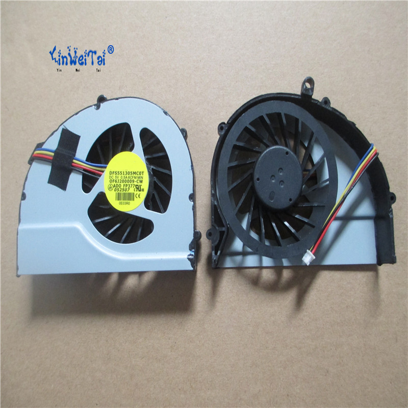 423d162cc65 5 pcs NEW FAN PORTÁTIL PARA HP DV4-3000 DV4-3010TX 3011 3126 3200 3115 3125  3114TX laptop cooler fan PARA HP DV4-3000 FÃ