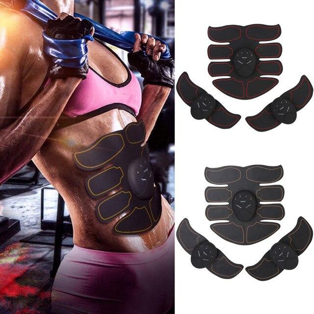 脂肪燃焼 Ems 筋肉刺激 ABS インテリジェント腹部筋肉調色マッサージボディービル腹部筋肉エクササイズマヒマヒ