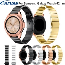 For Samsung Galaxy Watch 42mm Strap Wrist Band for stainless Steel Magnetic Loop
