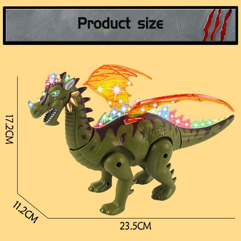 eletronica piscando dinossauro jurassico frescos animais 04