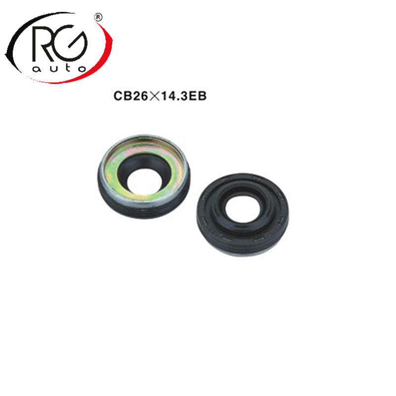 Automotive AC compressor oil seal LIP TYPE with RUBBER MOUNTED shaft seal seal stamp seal washerfor