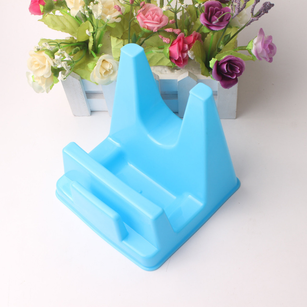 Pan Pot Cover Rack Stand Spoon Holder Rests Plastic Lid Holder Shelf ...