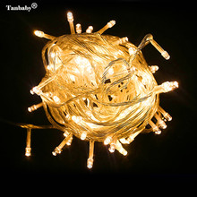 Tanbaby Led String Lights 10M 20M 30M 50M 100M Xmas Holiday light outdoor decor lamp for party wedding garden christmas Fairy