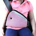 Triángulo Bebé Cabrito Ajustador Del Cinturón de seguridad Del Coche En Forma Segura Ajustar Dispositivo de Cinturón de Seguridad Del Coche Del Niño la Protección Del Cuello Posicionador Transpirable