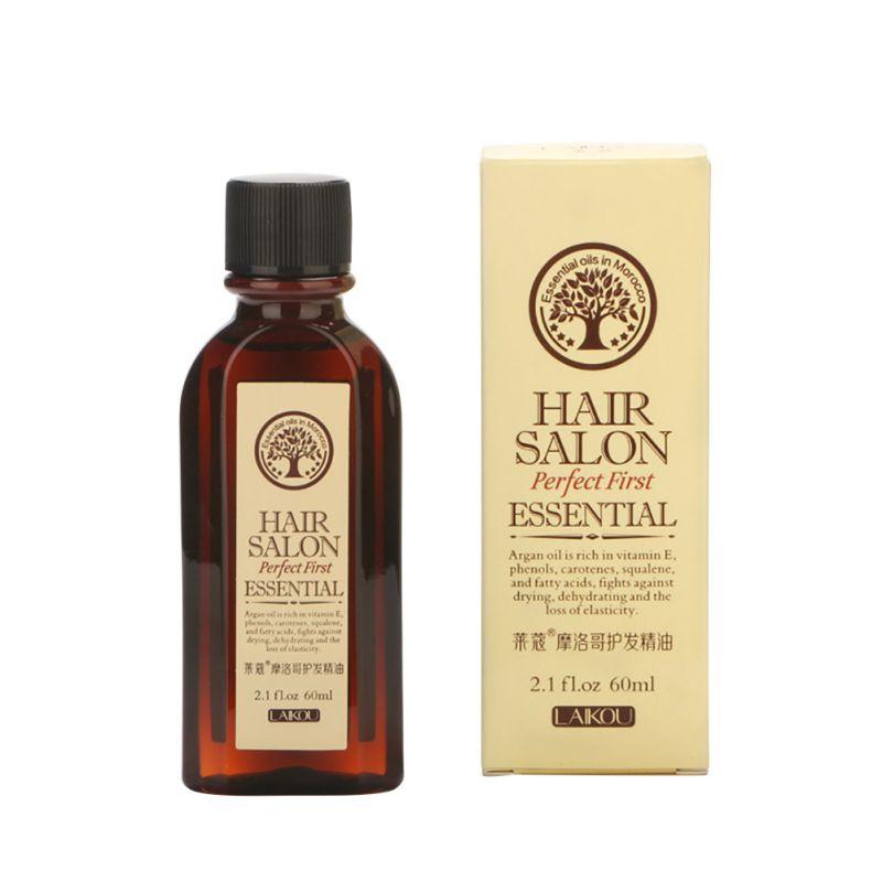 Pure Moroccan Argan Oil Care Hair & Scalp Treatment Moisturi