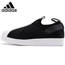 Original New Arrival 2018 Adidas Originals SUPERSTAR SlipOn Unisex Skateboarding Sko Sneakers