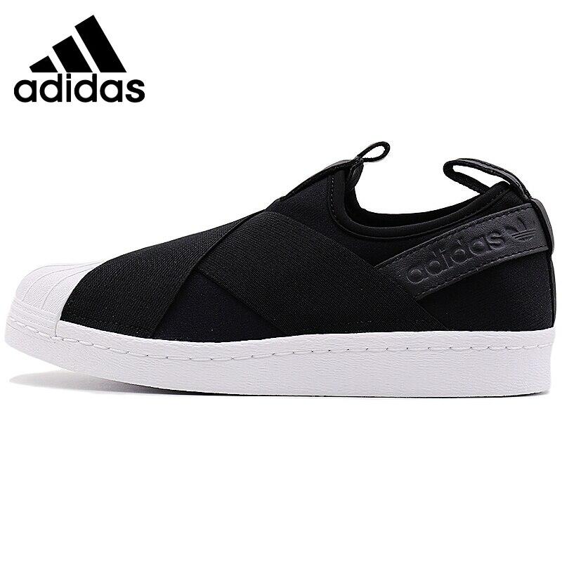 Galleria fotografica Original New Arrival 2018 <font><b>Adidas</b></font> Originals SUPERSTAR SlipOn Unisex Skateboarding Shoes Sneakers