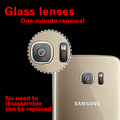 """Rear Camera Lens Anti-Scratch Guard Tempered Glass Film For Samsung S7 EDGE 5.5"""" Back Camera Lens Toughened Protective HD Films"""