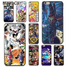Maiyaca Yugioh 'S JOJO 'S Bizarre Adventure Coque Phone Case untuk iPhone 11 Pro XR X MAX 8 7 6 6S Plus X 5 5S SE(China)