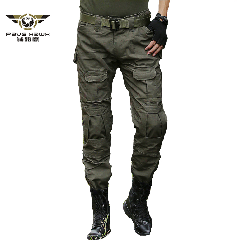 Tactical Pants Military Cargo Pants Men Knee Pad SWAT Army Airsoft Camouflage Hunter Field Work Combat Trouser Without  Knee Pad